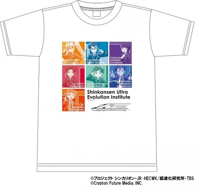 TBSストア限定 シンカリオン Tシャツ (オールキャスト)S,M,L.