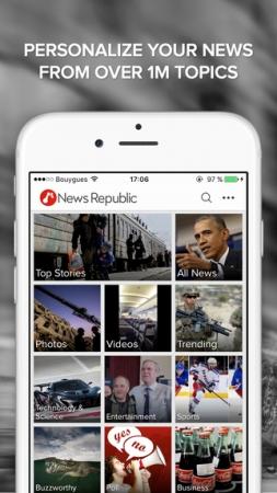 総合ニュースアプリ「News Republic」