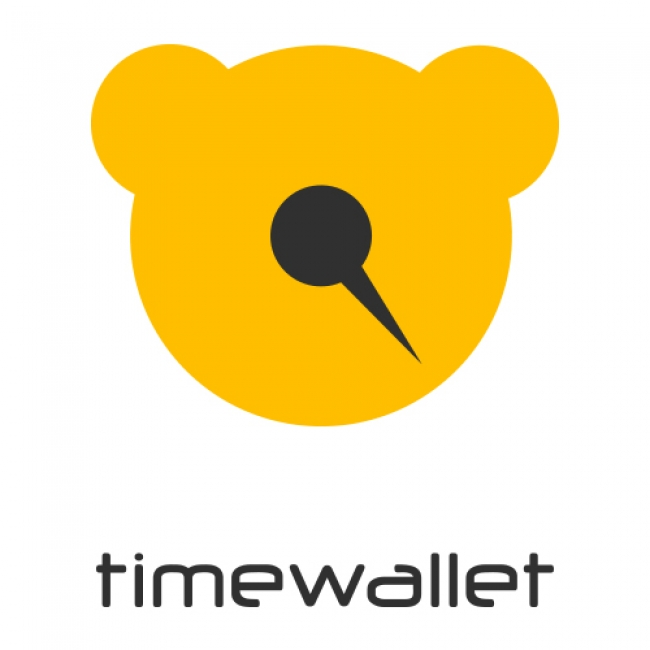 time wallet ロゴ