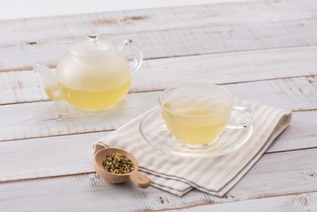「有機緑茶とかぼすのブレンドティー」 イメージ