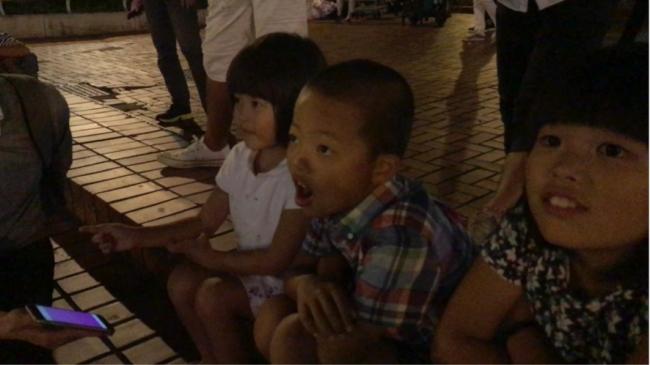 名古屋の子ども達が体験しました。