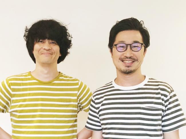 (写真左)BizGREEN編集長/伊藤賢治、 (右)Botapii編集長/川上睦生