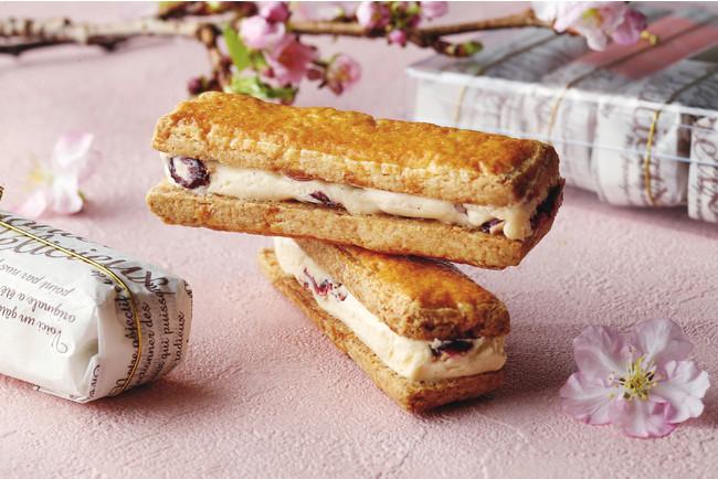 桜とクランベリーのバターサンド