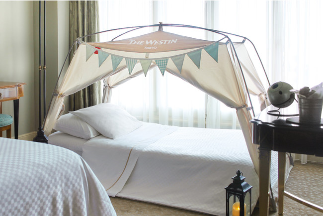ウェスティンホテル東京オリジナルテント付きベッド