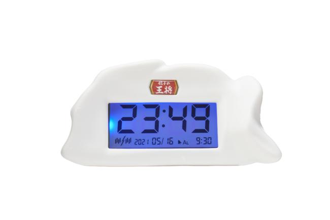 オリジナル餃子型デジタル時計