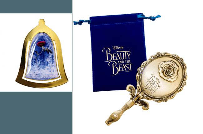 B 賞 ディズニー映画『美女と野獣』 オリジナルミラー、ブックマーク (C)2019 Disney