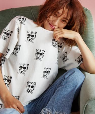タイガーTシャツ¥5,500