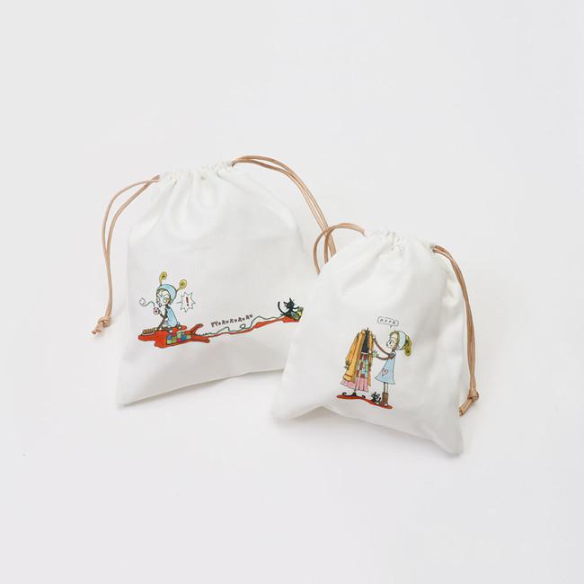 〇巾着2枚セット ¥300(税込¥330)