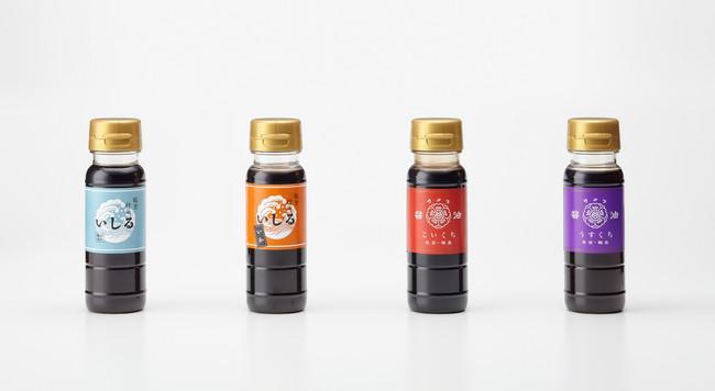 〇いしるいわし・いしるいか・サクラ醤油(こいくち・うすくち)各¥300