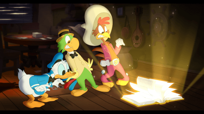 「三人の騎士の伝説」©2019 Disney