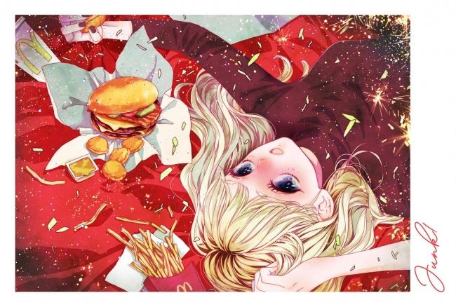 ▲描き下ろしイラストを使用したスペシャルポストカード (C)槙ようこ/集英社