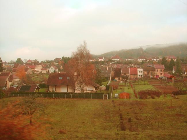 アルボアのまるで絵画の中にいるような農村風景