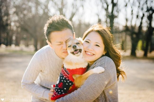 ワンちゃんを飼っていらっしゃらない方も、   撮影用モデル犬と一緒に「飼い主気分」で撮影会