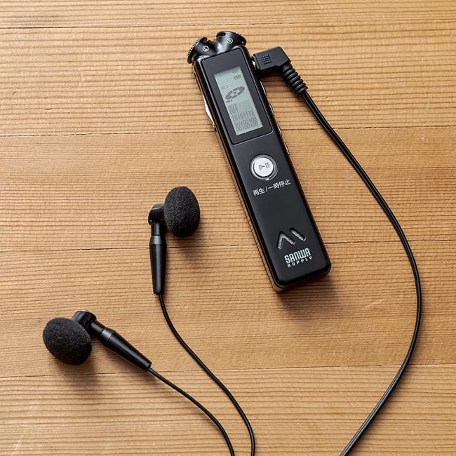 最大30時間録音できるスピーカー内蔵のボイスレコーダーを12月18日発売 ...