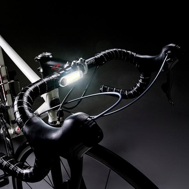 ... 自転車用補助前照灯とリア灯を