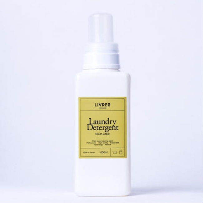 Landry Detergent ▶Green Apple ¥2,200+tax [綿・麻・合成繊維用洗剤]