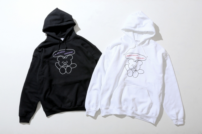 HOODIES ¥5,000+TAX