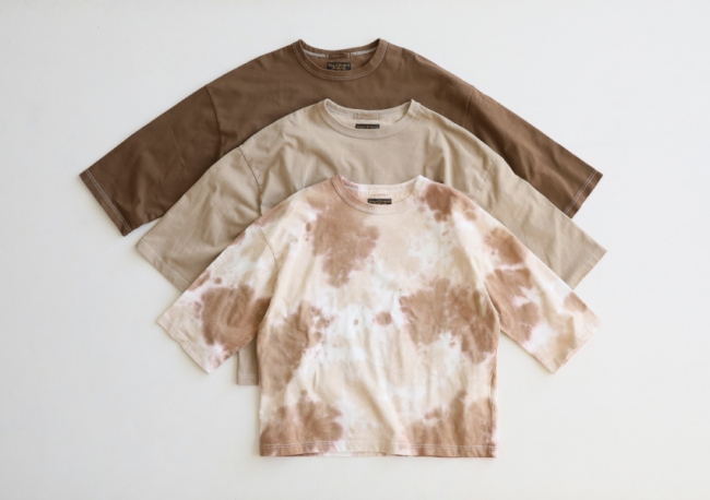 COFFEE DYED WIDE SILHOUETTE ¥8,000+TAX