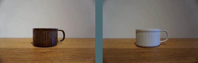 LAID-BACK CERAMICS 浅型カップ ¥2,800+TAX