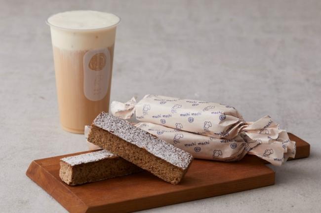 左)プレミアムミルクチーズティー、右)プレミアムミルクティーチーズケーキ