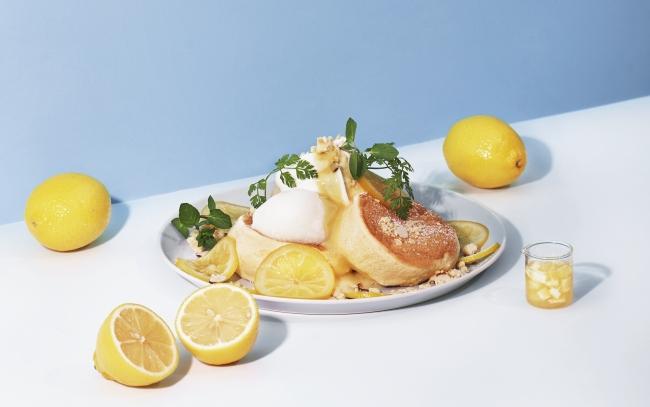 ▲奇跡のパンケーキ レモンとクリームチーズ