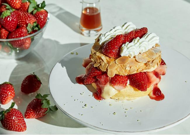 ▲奇跡のパンケーキ いちごのミルフィーユ