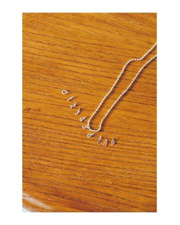 Necklace¥8,800 Pierced earrings¥3,850