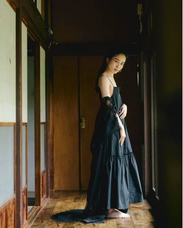 MEMORY TIERED DRESS ¥15,400 (TAX IN)