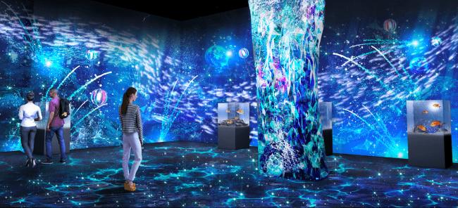 新ゾーンの空間全体演出の一例 ※イメージ