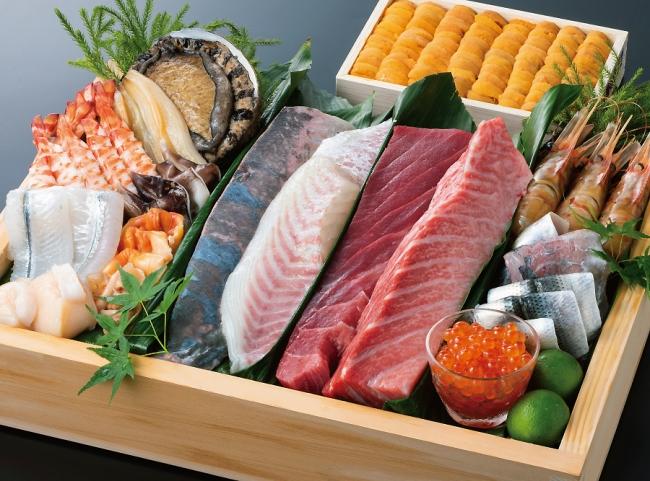 見よ!この各地から取り寄せた極上の寿司ネタを