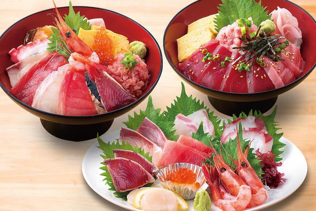 鮮魚の鮮度コスパはまる大ならでは!