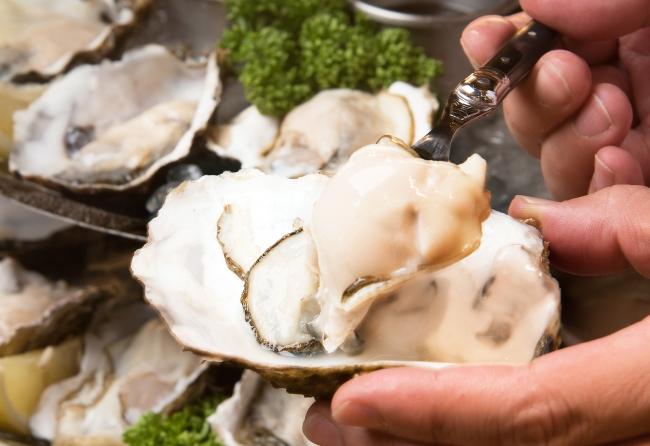 夏だからこそ牡蠣!つるんっと何個でもいける生牡蠣が美味しい
