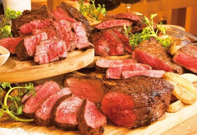 4種の塊肉ステーキが4週連続でニクオフ!(29%OFF)