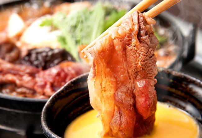 『桜鍋』(馬すき焼き)(1,280円税別/1人前)