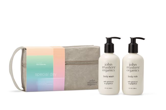 john masters organics『Special dayボディケアギフト』6,900円(税抜)