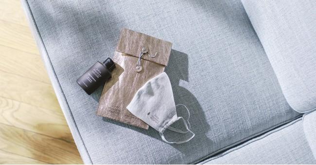 john masters organics × green label relaxing mask & hand refreshener kit 3,300円(税込)