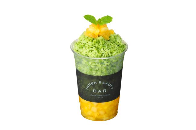 Inner Beauty Bar Organic Shave Ice 「MATCHA MORINGA」800円(税抜)