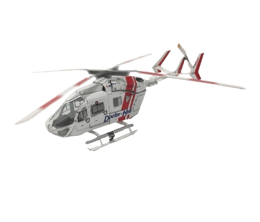 プリンターで「遊び」を提案!楽しく作りながらドクターヘリのことを知ろう!朝日航洋監修の「ドクターヘリ」ペーパークラフト素材を公開
