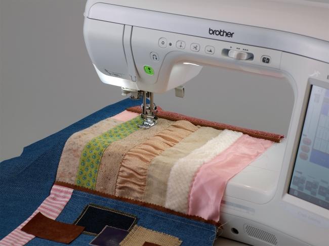 異素材の縫い合わせ