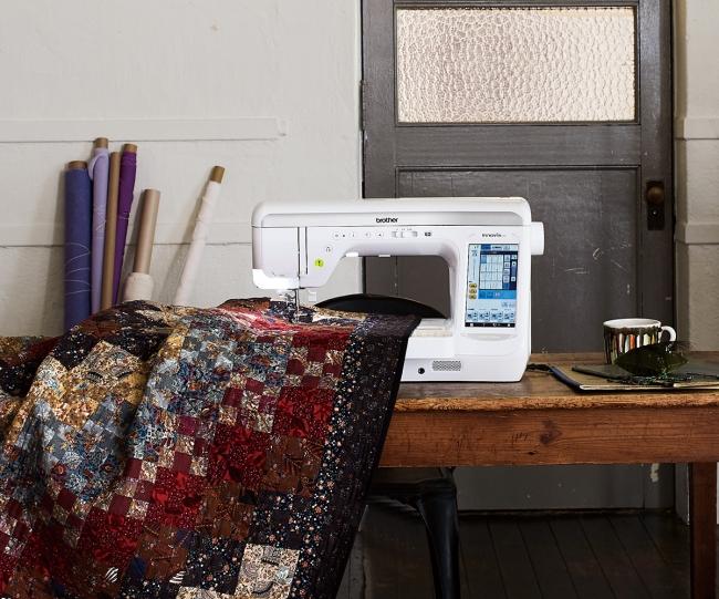 ミシンキルトの縫製イメージ