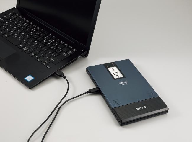 USBケーブルからの充電に対応