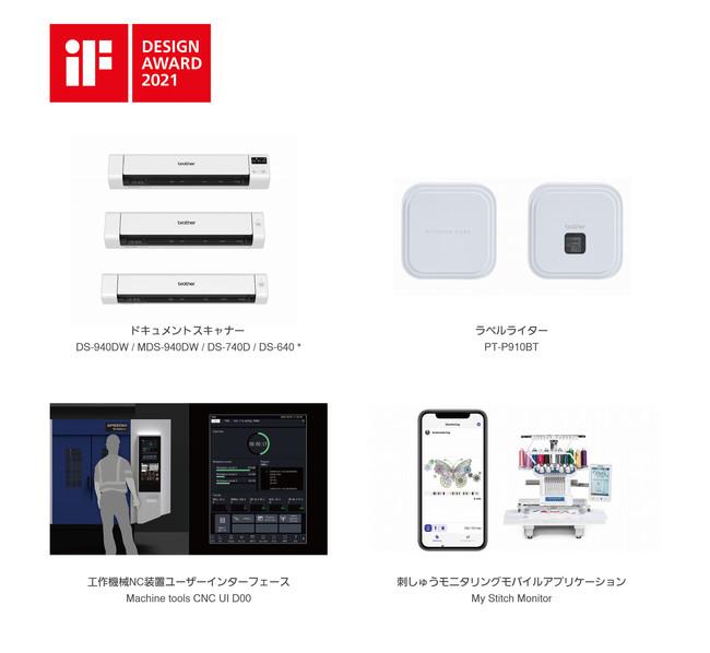 iF DESIGN AWARD 2021受賞製品