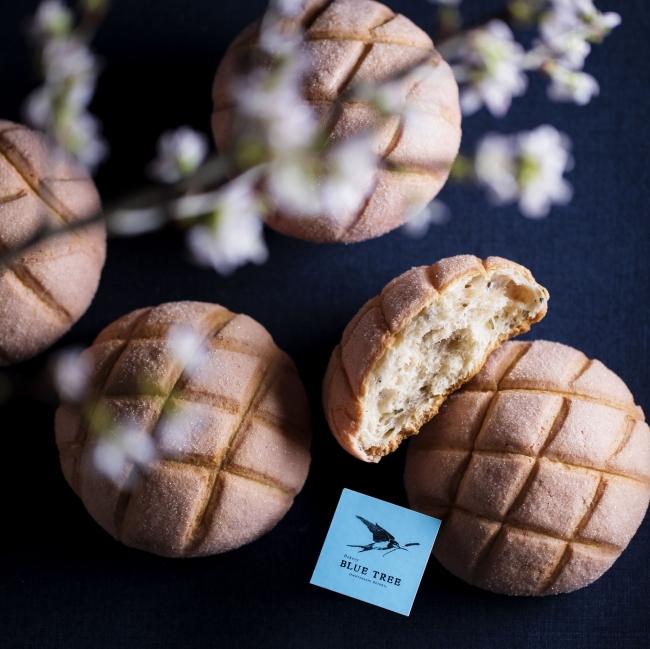 八芳園 BLUE TREE 「さくらメロンパン」