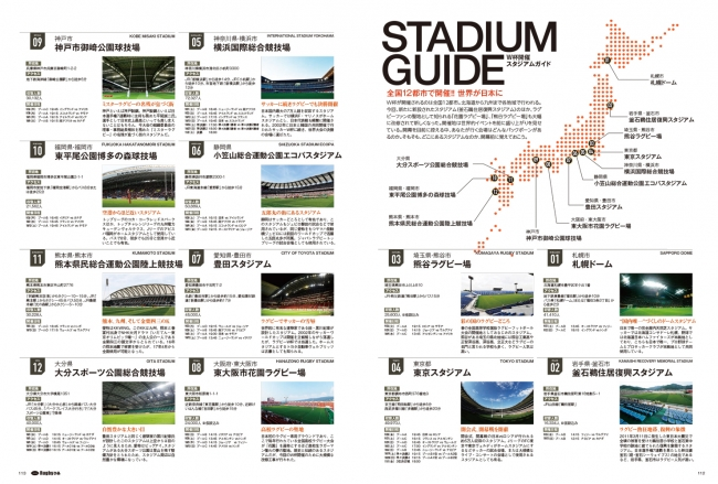 『Rugbyぴあ ~がんばれジャパンラグビー!特集号』(ぴあ)中面 協力:(公財)日本ラグビーフットボール協会