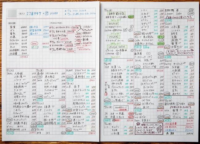 『毎日が潤う づんの家計簿 決定版』(ぴあ)中面 (C)ぴあ