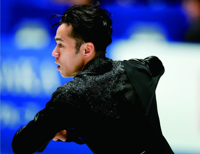 『フィギュアスケートぴあ ~ moment on ice ~ vol.7』(ぴあ)綴込みピンナップ(裏)  髙橋大輔選手