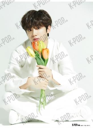 「K-POPぴあvol.9」 綴込みピンナップ キム・ヨハン