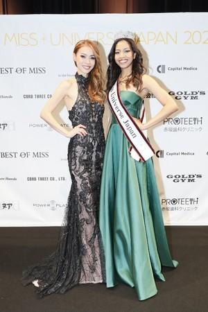 美馬寛子(左) 杤木 愛シャ 暖望(右)