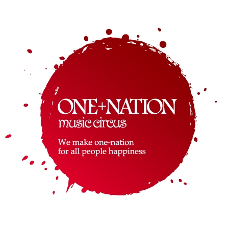 「ONE+NATION」ロゴ