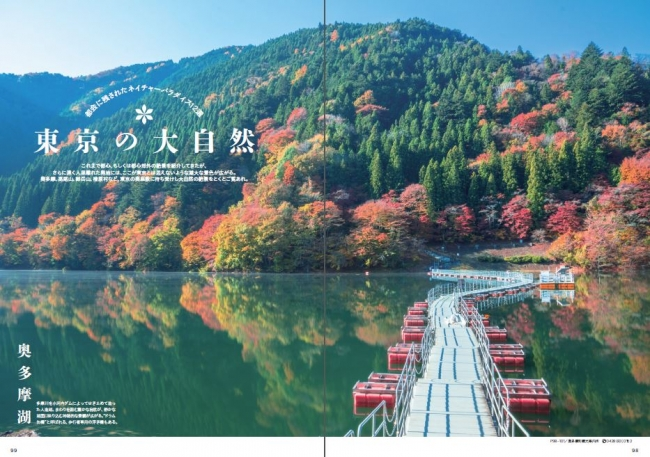 『東京絶景散歩』(ぴあMOOK)P98-99